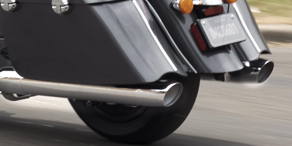 TRUE DUAL EXHAUST